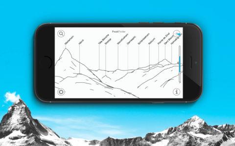 Wander-App: PeakFinder