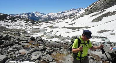 Wanderung zur Albert-Heim-Hütte, 2542 m.ü.M.