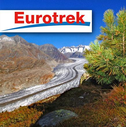 Wanderferien / Wanderreisen in der Schweiz auf dem Aletsch Panoramaweg mit Wandern ohne Gepäck
