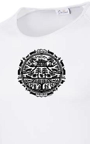 Atmungsaktive, schnelltrocknende und superleichte Wander-T-Shirts / Outdoor-T-Shirts / Sport-T-Shirts / Funtions-T-Shits von Schweizer Künstlern