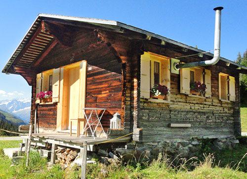 Alphütte und Maiensäss mieten