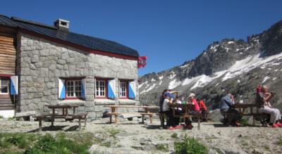 Wanderung in der Grimselwelt vom Räterichsbodensee zur Bächlitalhütte und zurück