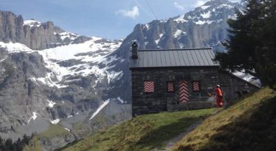 Wanderung von Kandersteg zur Balmhornhütte im Gasterntal und retour