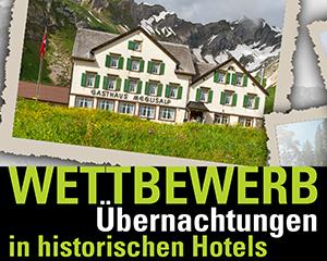 "Wettbewerb Sommerserie 2018 ""Wanderungen zu historischWettbewerb Sommerserie 2018 ""Wanderungen zu historischen Berghotels""en Berghotels"""