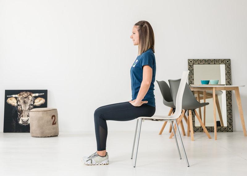 Bauchmuskulatur – Leg lift
