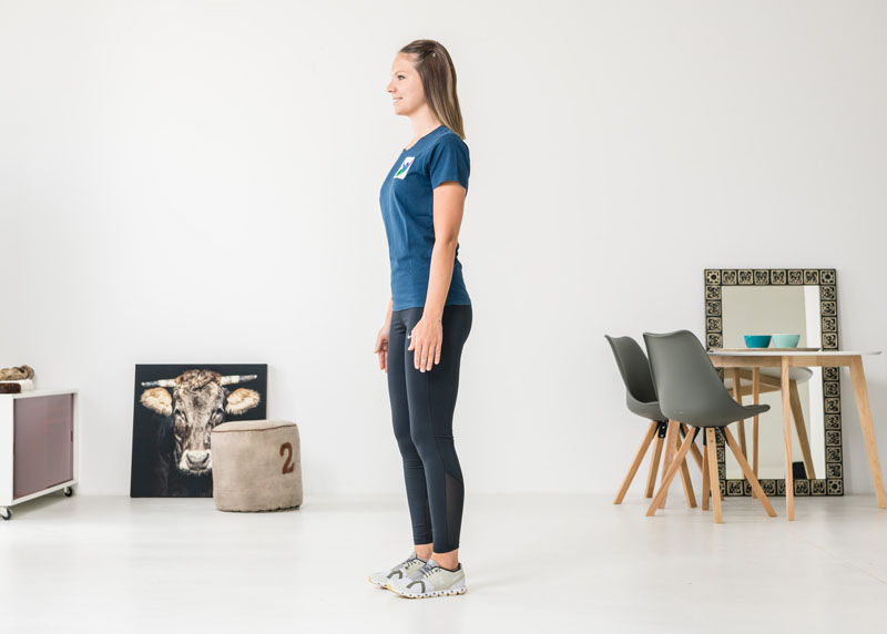 Muskulatur der Beine