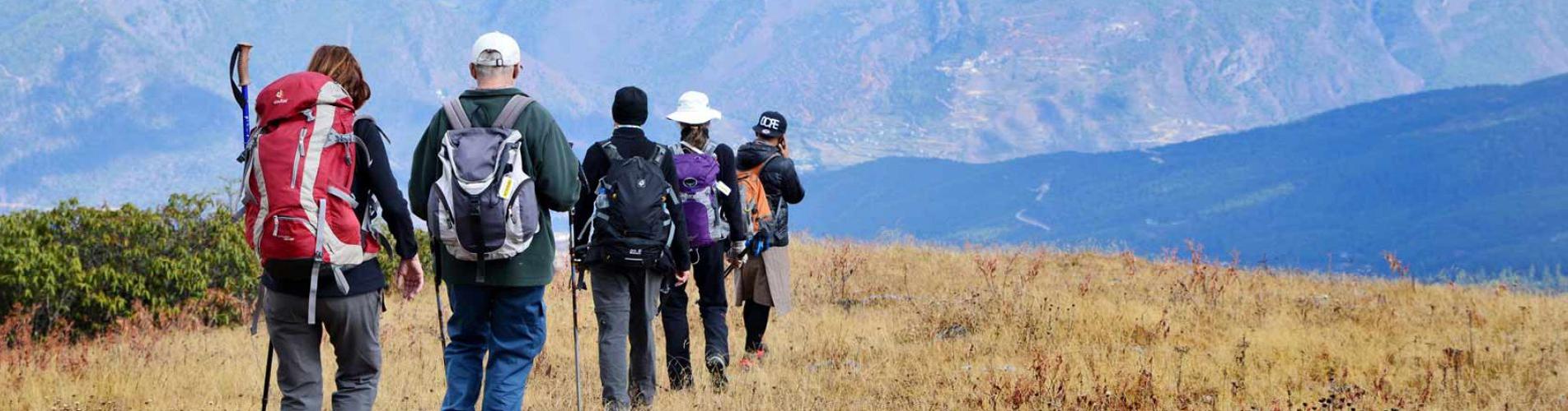 Wanderferien und Wanderreisen weltweit