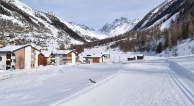 Winterwanderung im Lötschental, Wallis, von Kippel via Wiler, Ried nach Blatten