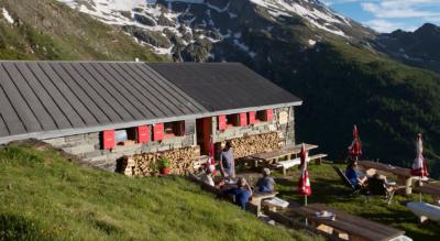 Bergwanderung über die Bortellhütte auf den Simplonpass