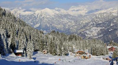 Winterwanderung von Brambrüesch, oberhalb Chur, via Edelweisshütte, Malixer Alp, Älplibar mit Aussicht bis zum Dreibündenstein und zurück nach Brambrüesch zu Fuss oder mit Schlittelabfahrt