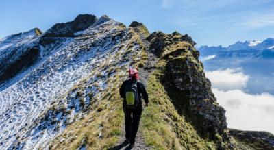 Wanderung / Gratwanderung und Höhenwanderung vom Brienzer Rothorn via Eiseesattel, Arnihaaggen, Zwischenegg, Höch Gumme, Gibel, Scheidegg, Tüfengrat Hörnli, Wilerhorn, Wiler Vorsess, Schäri auf den Brünigpass