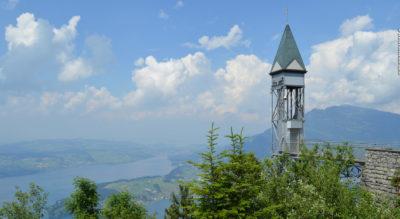 Wanderung auf dem Bürgenstock Felsenweg via Hammetschwand-Lift, Känzeli, Villa Honegg, Trogen zurück zum Bürgenstock Zentrum