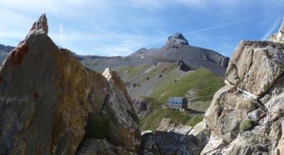 Rund um den Grand Chavalard über den Col de Fenestral zur Cabane du Fenestral