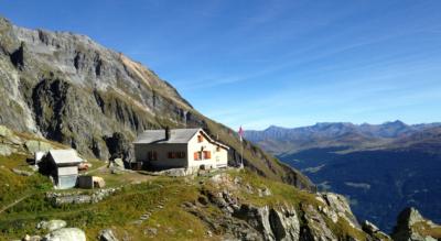 Bergwanderung von Schlans GR zur Camona da Punteglias