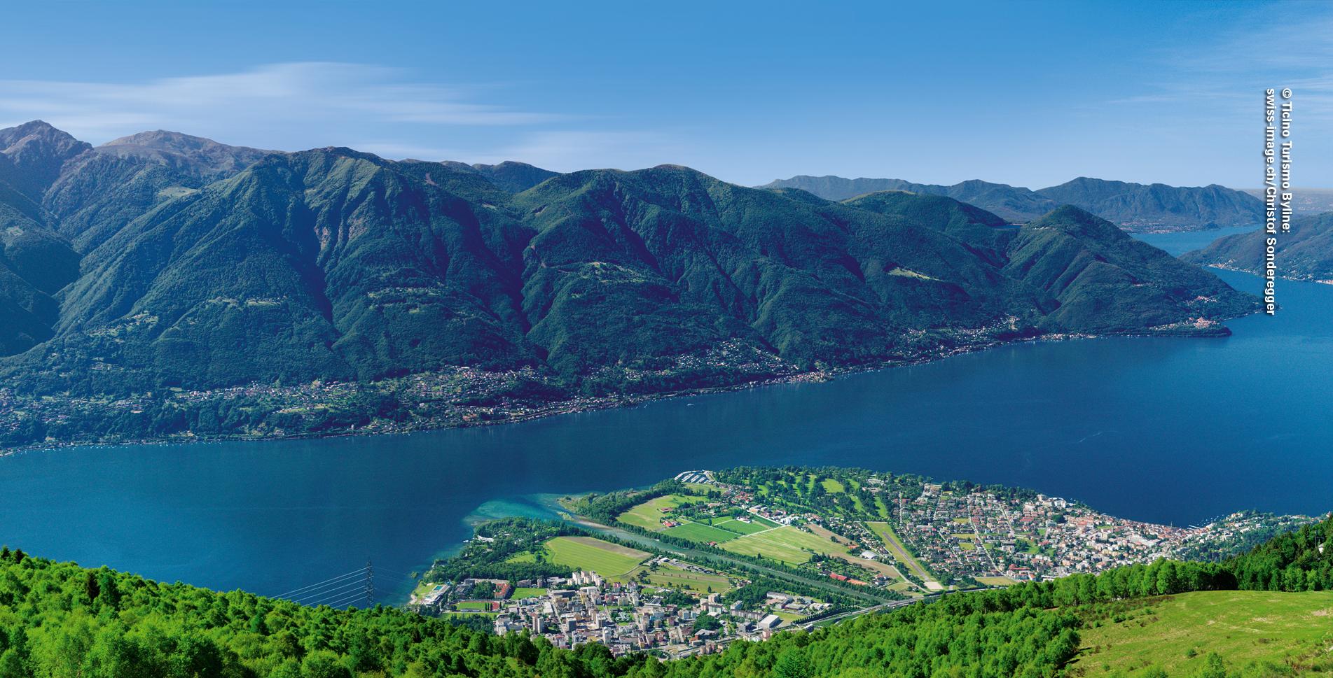 Wanderung oberhalb von Madonna del Sasso / Locarno von der Cardada via Talstation der Cimetta-Sesselbahn, Alpe Cardada, Capanna Lo Stallone, Monti di Lego nach Mergoscia