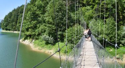 Wanderung von Charmey via Lac de Montsalves zur und durch die spektakuläre Jaunbachschlucht und via Broc nach Gruyères