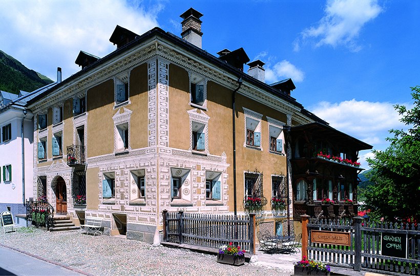 Chesa Salis Hostoric Hotel Engadin, Bever