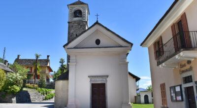 Wanderung auf dem Sentiero Collina Alta von Contra via Monti della Trinità nach Orselina und zur Madonna del Sasso in Locarno.