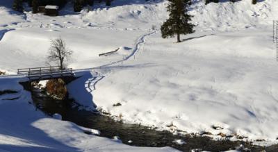 Winterwanderung von Davos ins DischmatalWinterwanderung von Davos ins Dischmatal bis zum Restaurant Teufi