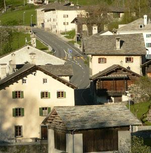 Familie Giacometti und Atelier Giacometti in Stampa, Bergell