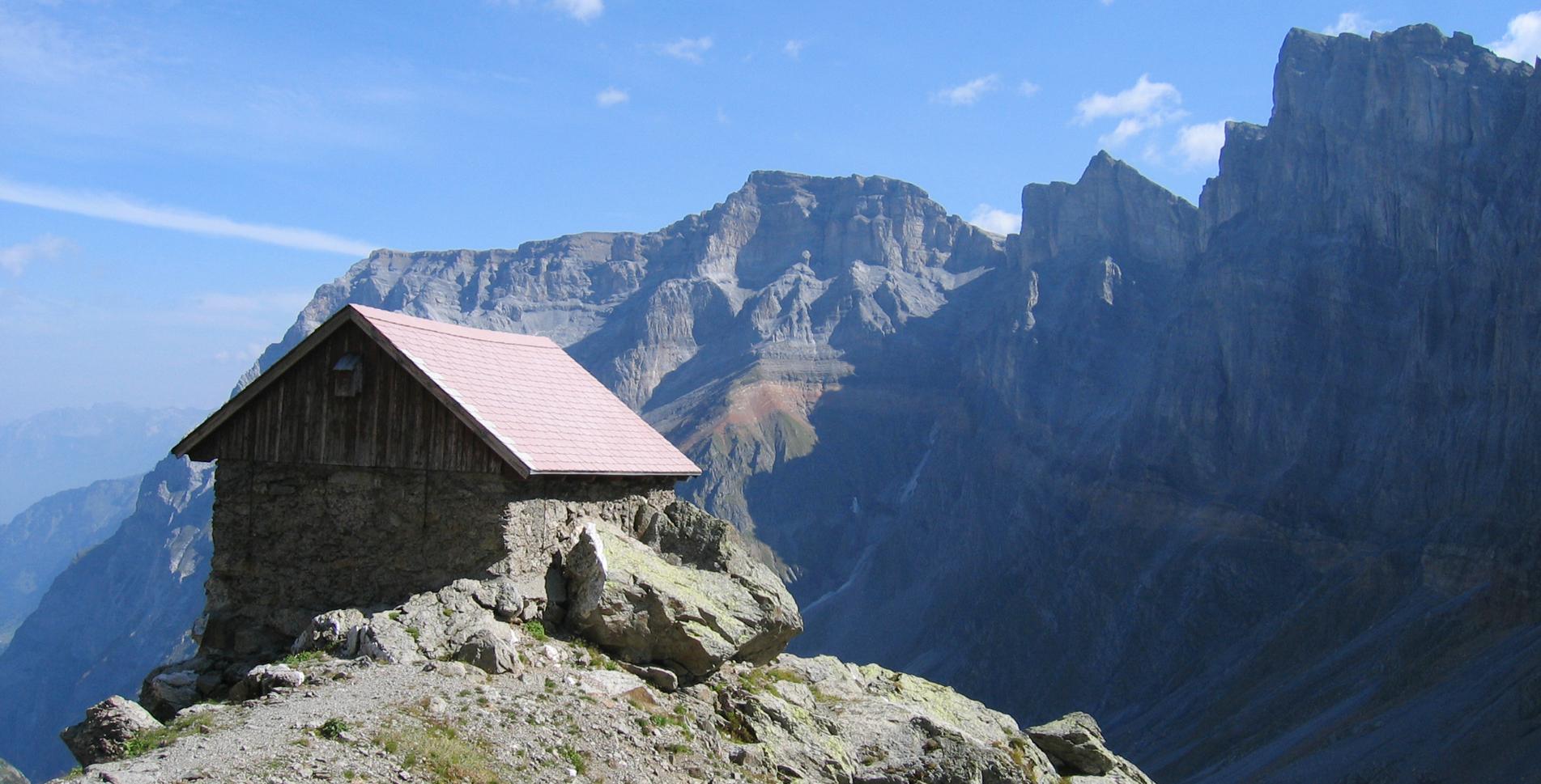 Rundwanderung Fridolinshütten – Claridenhütte – Tierfehd