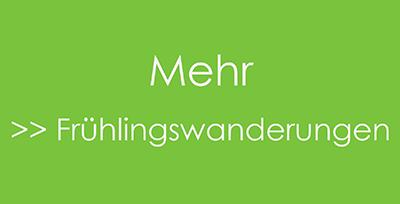 Frühlingswanderungen Schweiz
