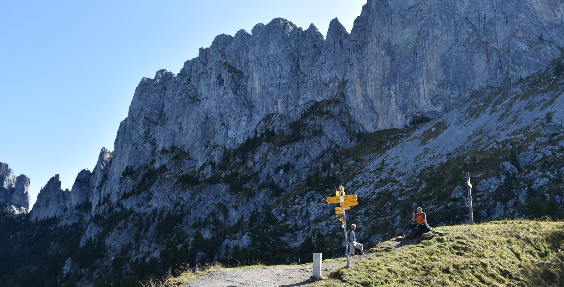 wunderschön wandern über die alpen