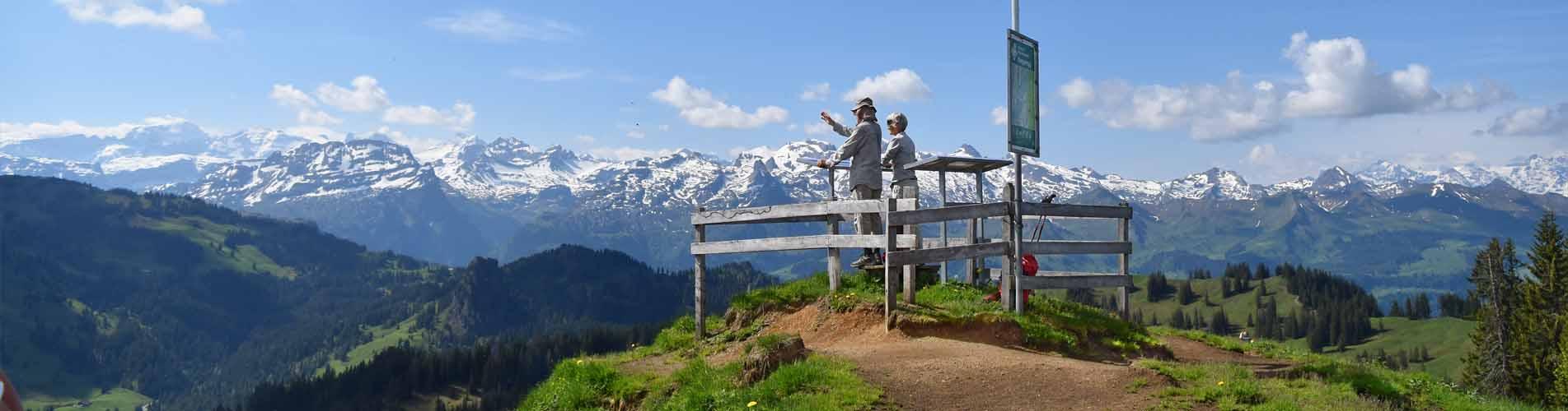 Geführte Wanderungen und Wanderferien Schweiz