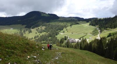 Wanderung im Gantrischgebiet zur Alp Morgeten
