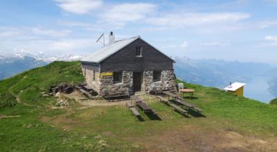 Wanderung zur Alvierhütte