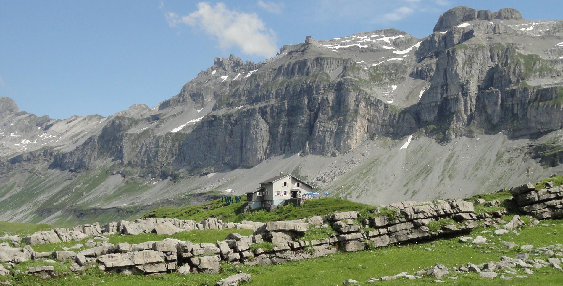 Bergwanderung von Braunwald (Gumen) über Erigsmatt, Charetalp auf die Glattalp