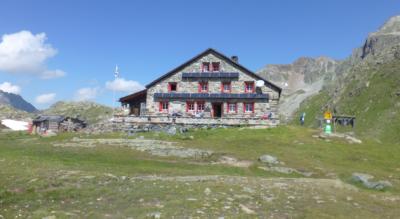 Wanderung von Dürrboden im Dischmatal, bei Davos, zur Grialetschhütte / Chamanna da Grialetsch CAS und ins Grialetschtal nach Chant Sura