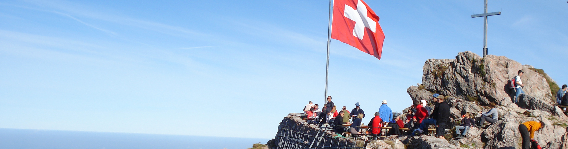Gipfelwanderungen: Zum Gipfelglück hoch hinaus wandern
