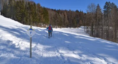 Gyrenbad Schneeschuhwandern im Turbenthal, Züri Oberland / Zürcher Oberland