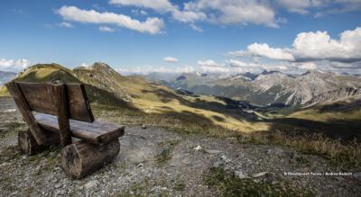 Höhenwanderung ob Arosa von der Hörnlihütte zum Weisshorn