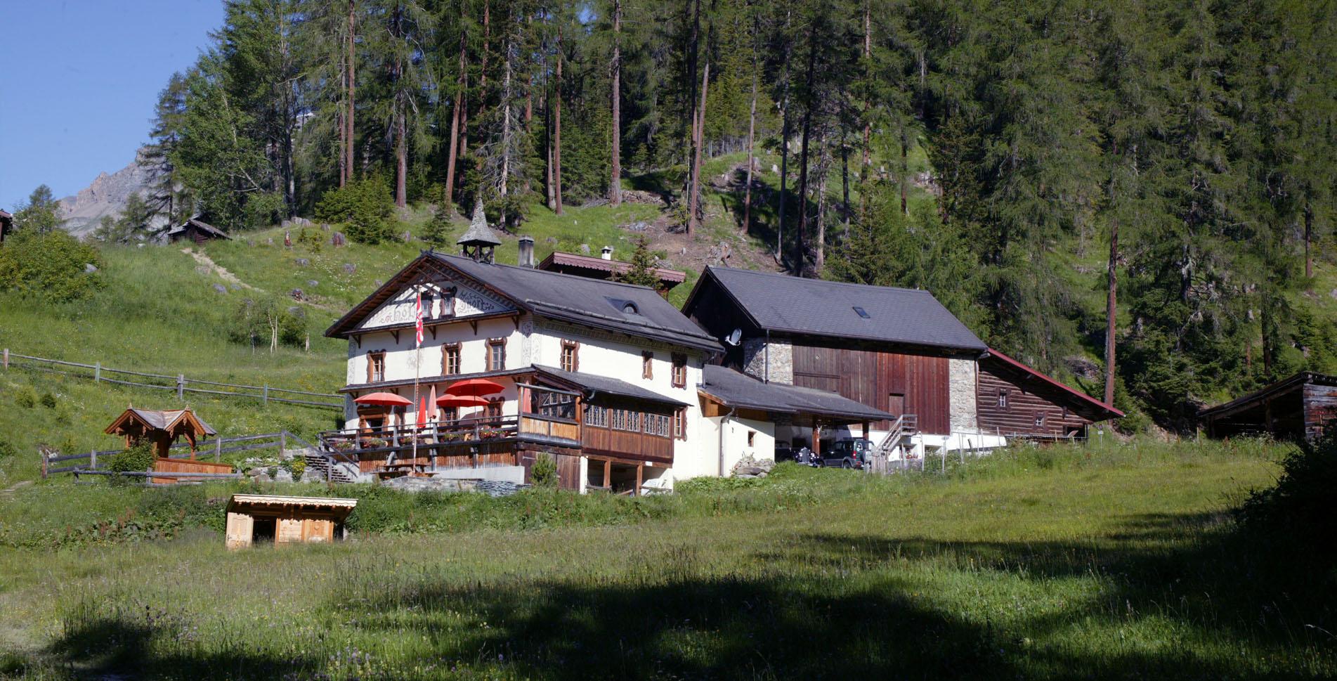 Hof Zuort im Val Sinestra, Unterengadin / Engadin