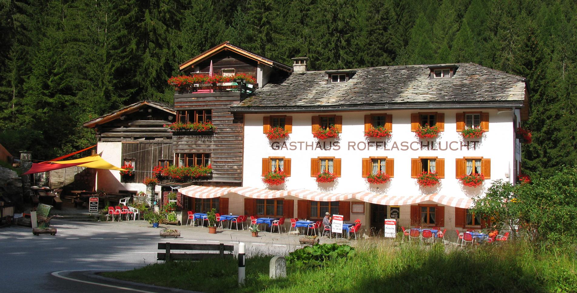 Hotel Gasthaus Rofflaschlucht, Andeer