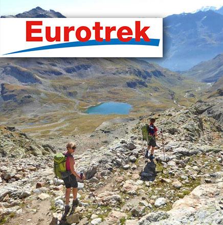 Wanderferien / Wanderreisen in Graubünden, Schweiz mit Hüttentrekking / Hüttenwandern und Wandern ohne Gepäck