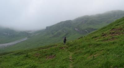 Wanderung vom Klausenpass / Klausen auf das Balmer Grätli mit Abstieg via Ober Stafel, Ruosalp, Unter Stafel, Gross Gade, Alpwirtschaft Waldi-Ranch am Waldisee mit Endpunkt Schlänggen im Bisisthal / Muotathal