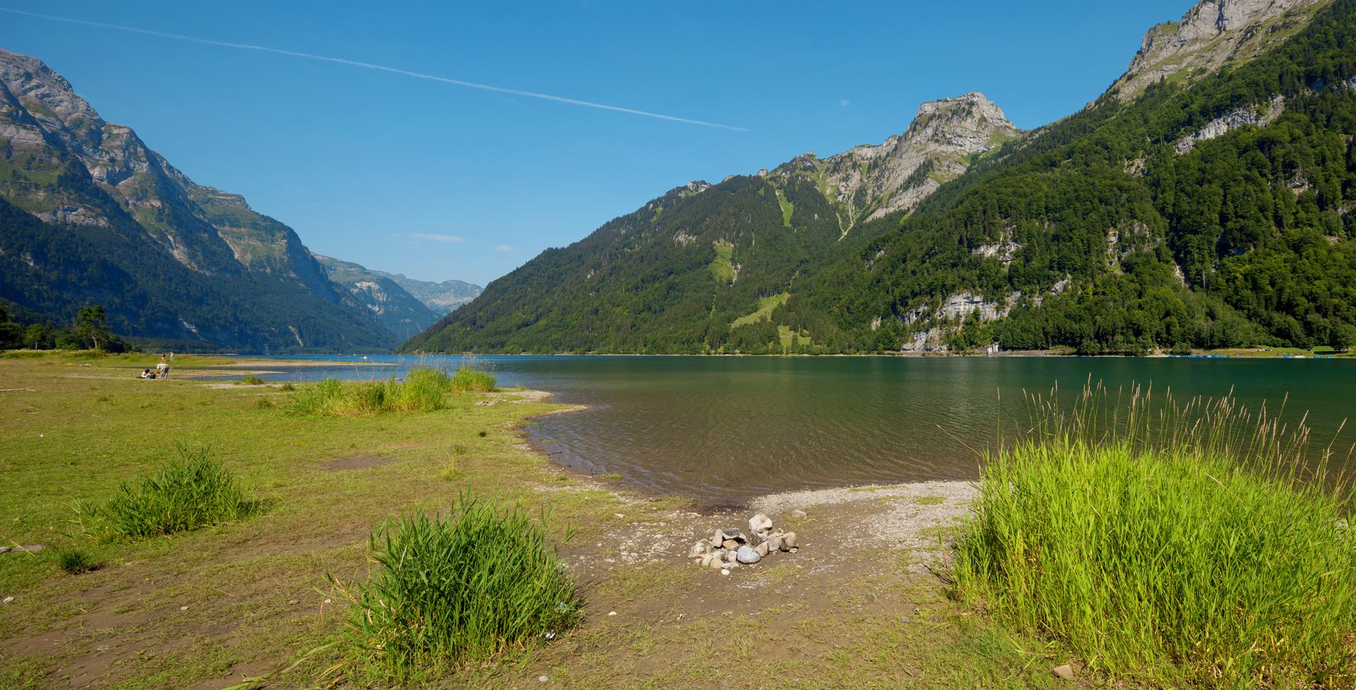 Uferwanderung Klöntalersee