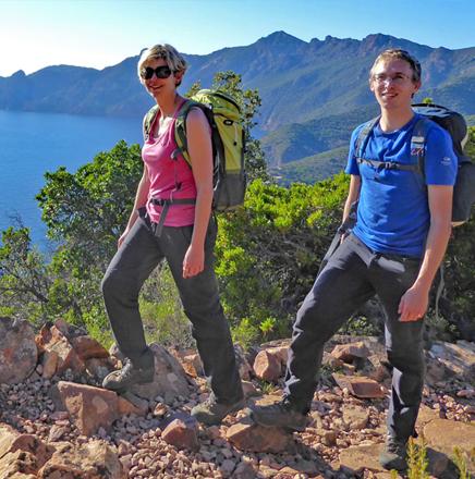 Wanderferien / Wanderreisen in Korsika