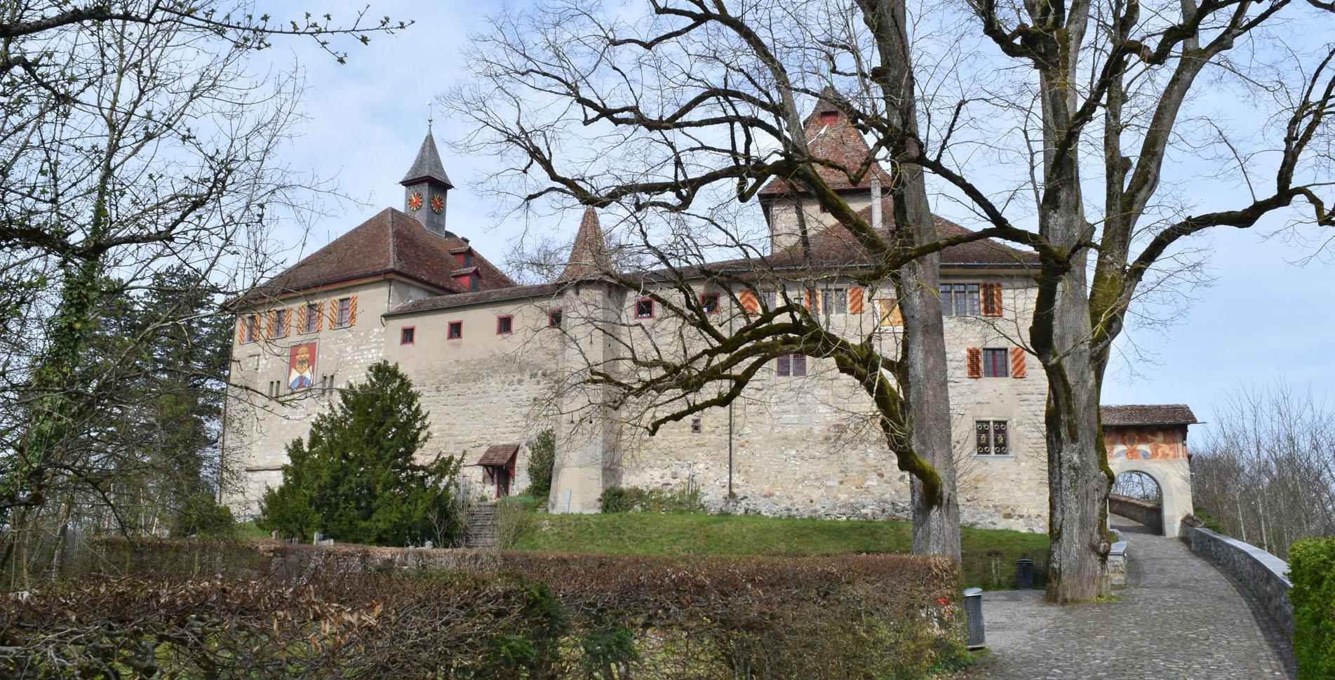 Wanderung vom Schloss Kyburg via Eschenberg und Wildpark Bruderhaus nach Winterthur