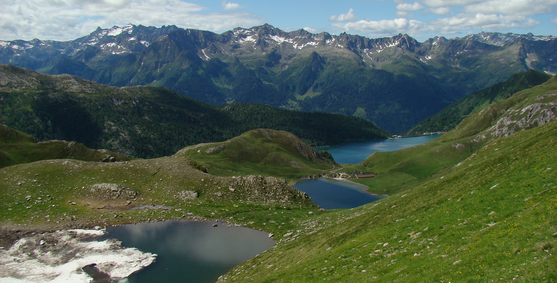 Rundwanderung im Val Piora von Piora zum Lago Ritom, Lago di Tom und zur Cadlimohütte