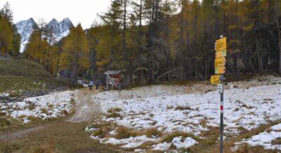 Wanderung von Preda am Albulapass zum Lai da Palpuogna / Palpuognasee mit tollen Feuerstellen und mit einem Abstecher in Bergün