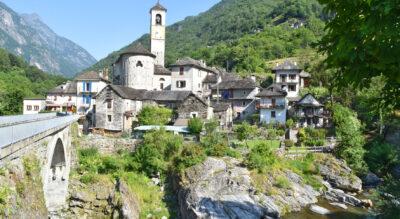 Wanderung im Verzascatal / Valle Verzasca von Lavertezzo via Brione nach Sonogno