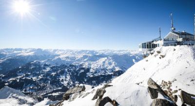Winterwanderung von der Lenzerheide nach Arosa Prätschli auf dem Heidi & Gigi Winterwanderweg via Scharmoin, Motta, Hörrnligrat und Restaurant Alpenblick