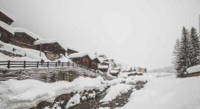 Winterwanderung im Lötschental, Wallis, von Blatten zur Fafleralp und wieder zurück nach Blatten