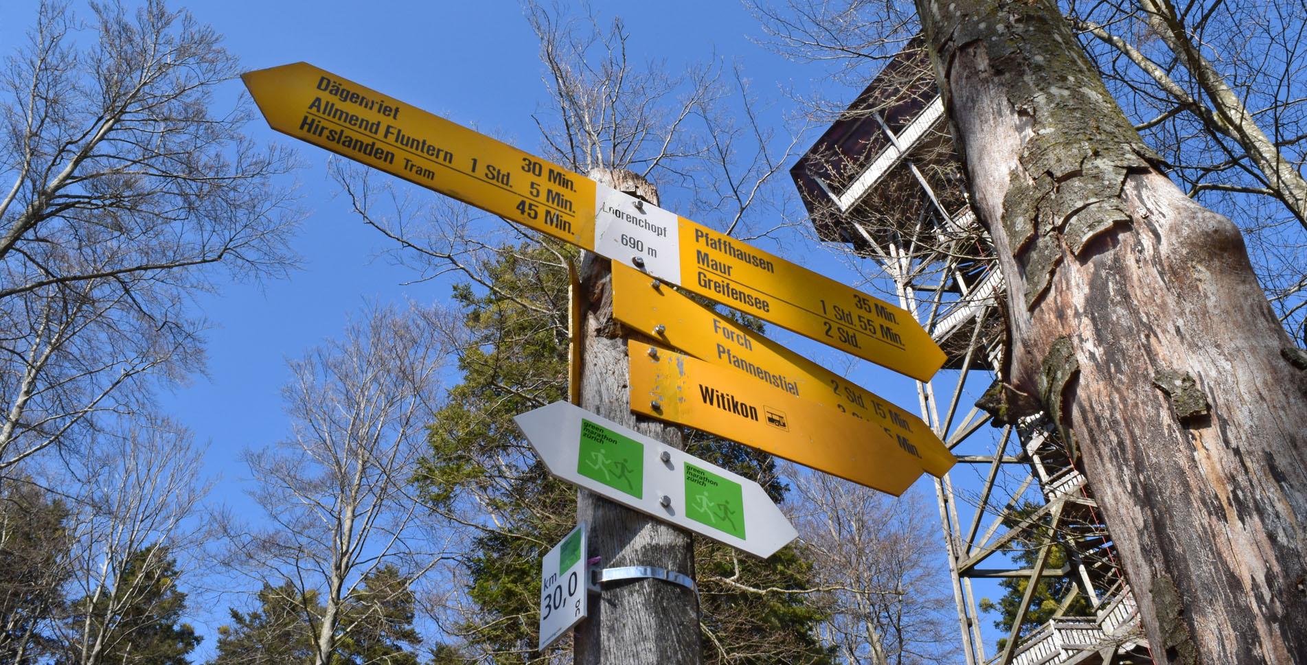 Wanderung von Fällanden auf den Lorenchopf und weiter via Adlisberg nach Zürich Zoo. Unterwegs und auf dem Lorenchopf warten tolle Feuerstellen.