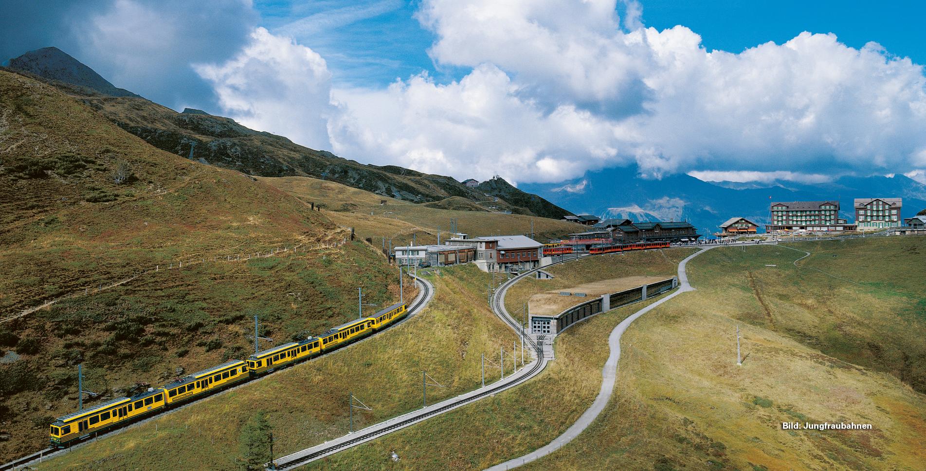 Wanderung vom Männlichen auf die Kleine Scheidegg