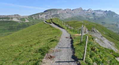 Wanderung von Melchsee-Frutt, Tannensee via Balmeregghorn zum Alpen tower auf dem Planplatten auf dem Horizontweg